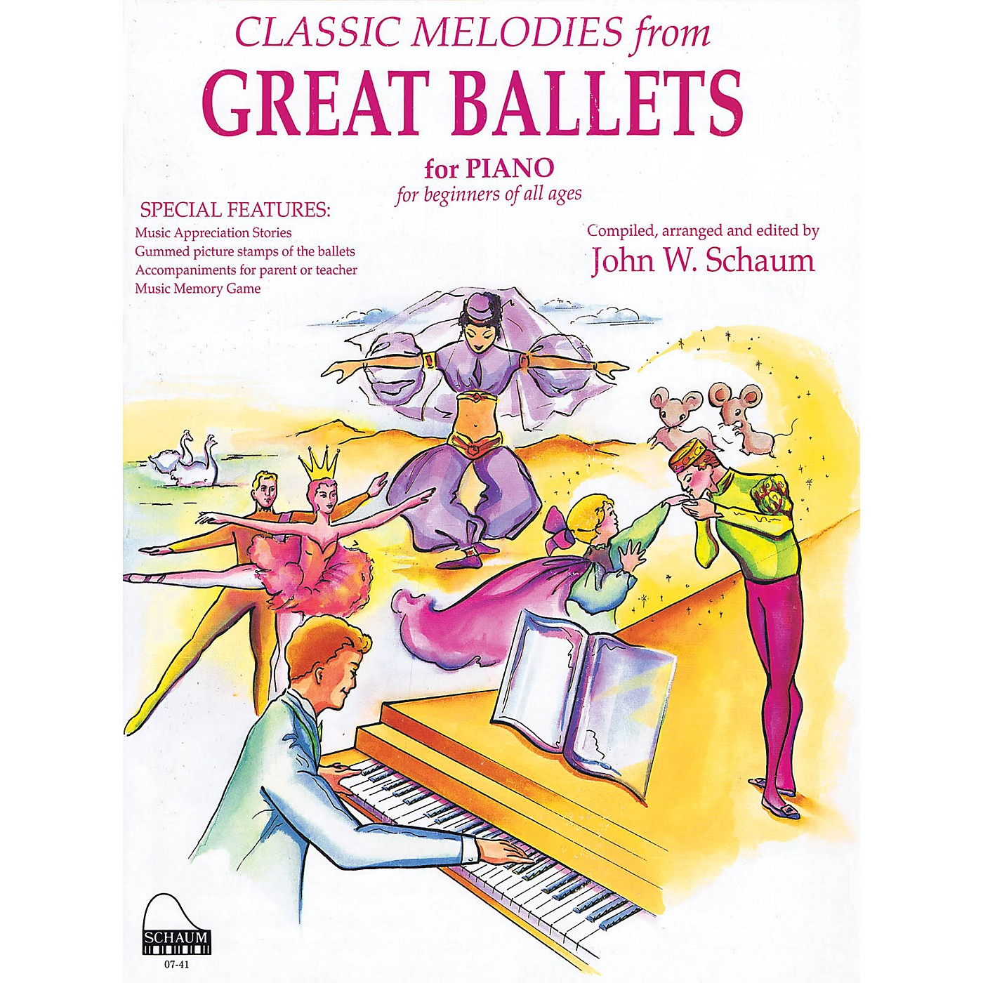 SCHAUM Great Ballets Educational Piano Series Softcover thumbnail