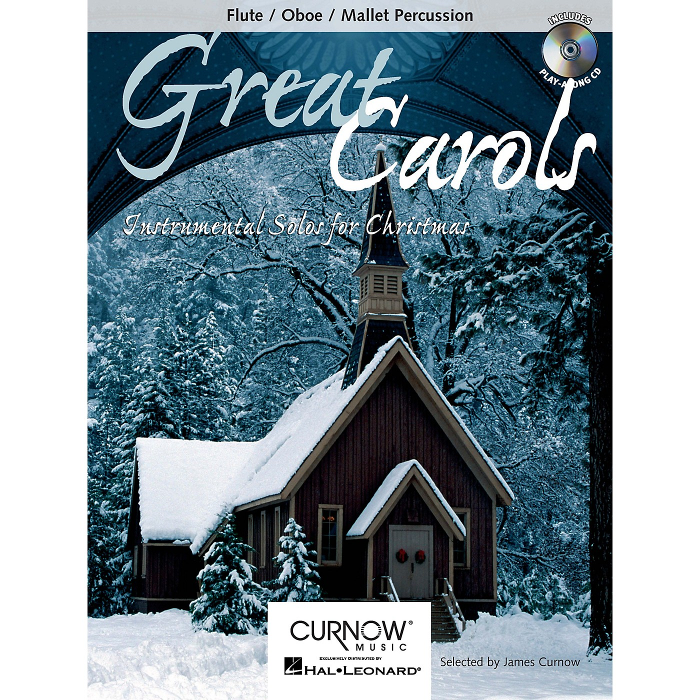 Curnow Music Great Carols (Flute/Oboe/Mallet Percussion - Grade 3-4) Concert Band Level 3-4 thumbnail