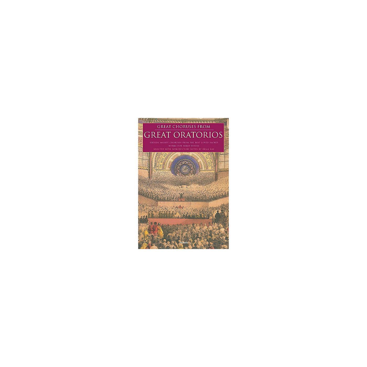 Novello Great Choruses from Great Oratorios SATB thumbnail