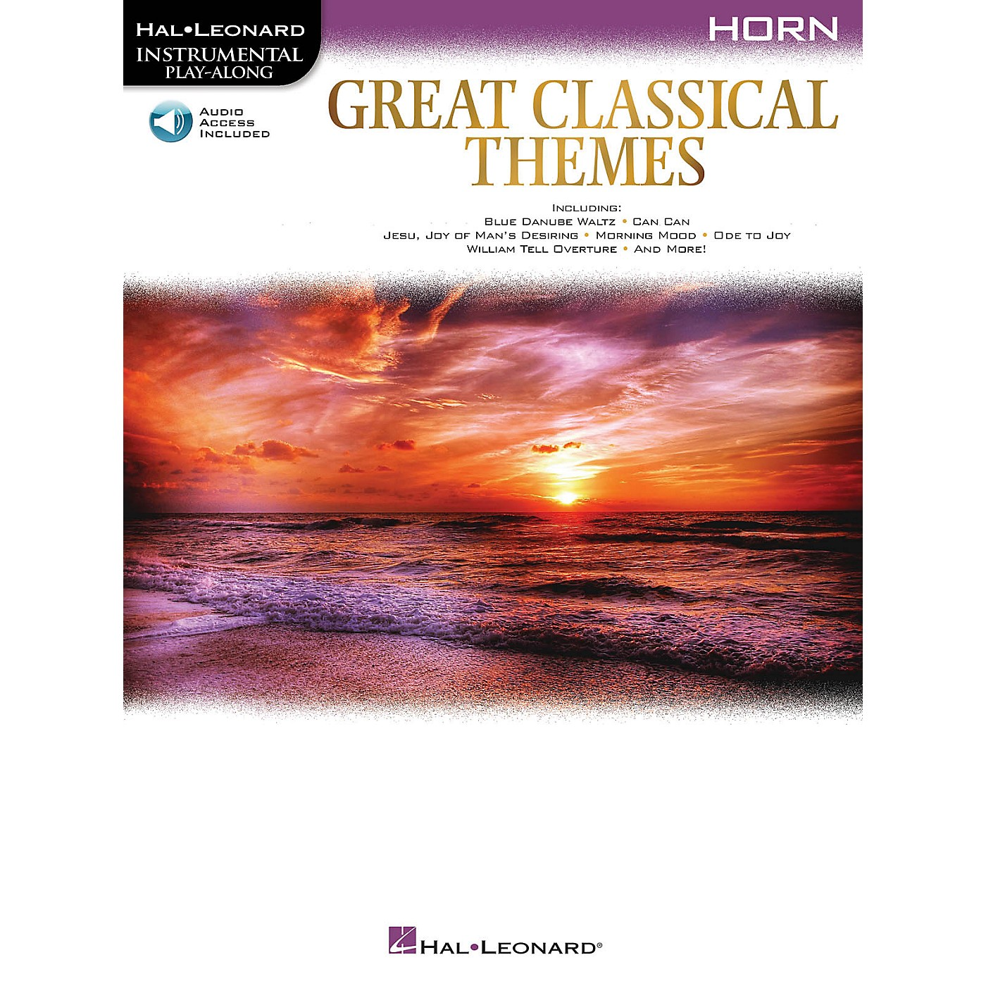 Hal Leonard Great Classical Themes for Horn Instrumental Play-Along Book/Audio Online thumbnail