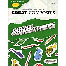 Curnow Music Great Composers (Bb Soprano Sax/Bb Tenor Sax - Grade 0.5) Concert Band Level 1/2