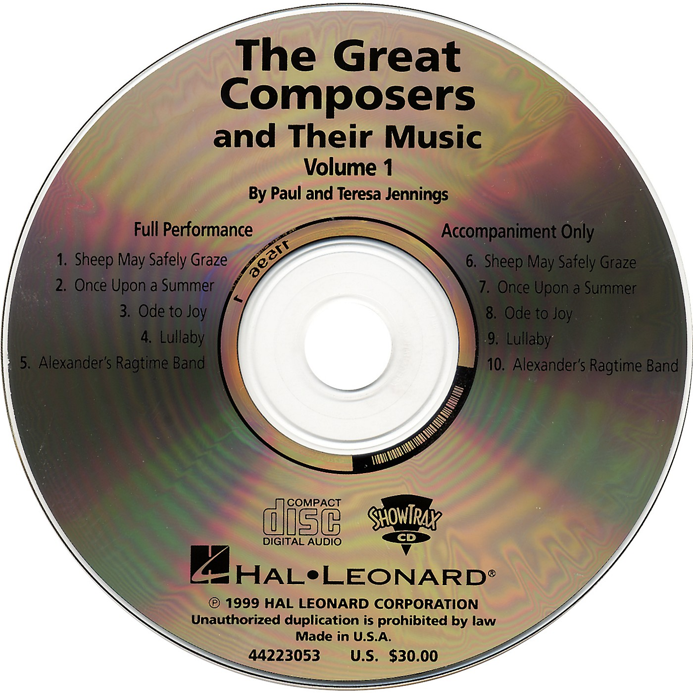 Hal Leonard Great Composers and Their Music CD thumbnail