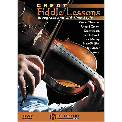 Homespun Great Fiddle Lessons: Bluegrass And Old-Time Styles DVD thumbnail