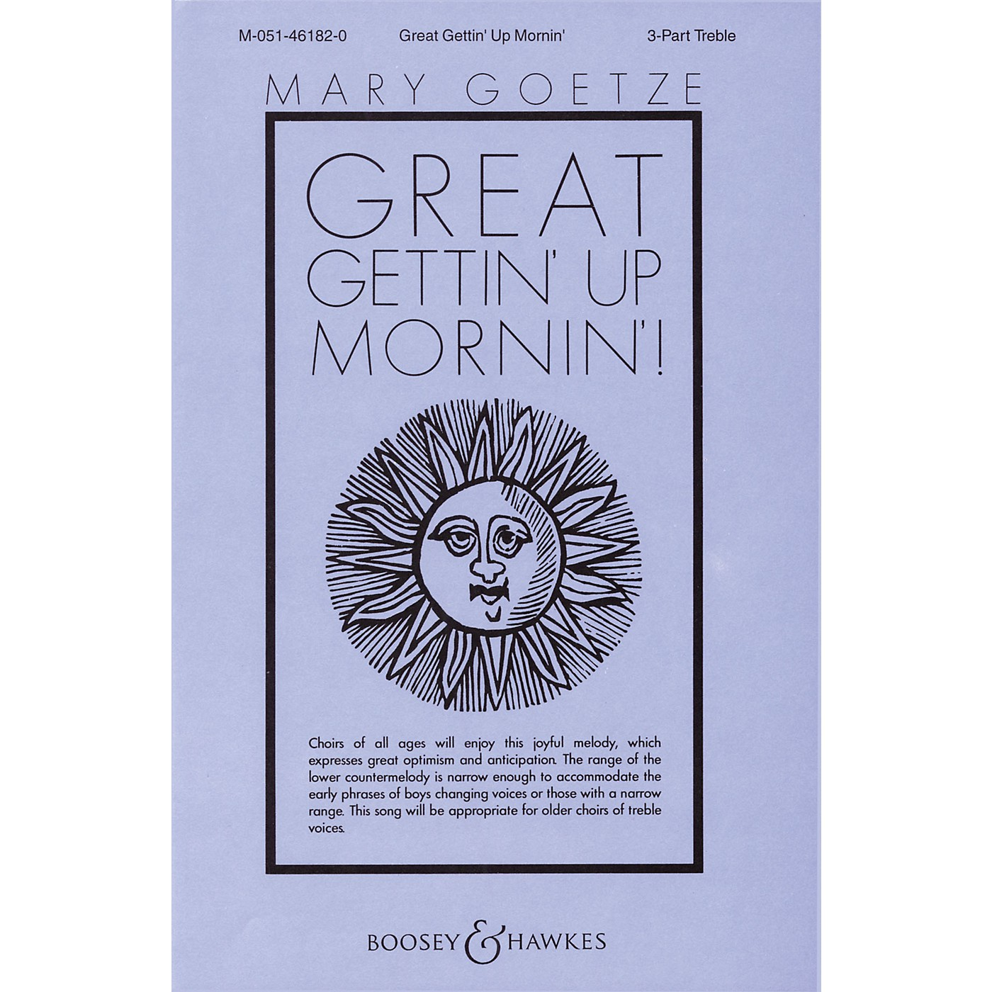 Boosey and Hawkes Great Gettin' Up Mornin'! SSA A Cappella arranged by Mary Goetze thumbnail