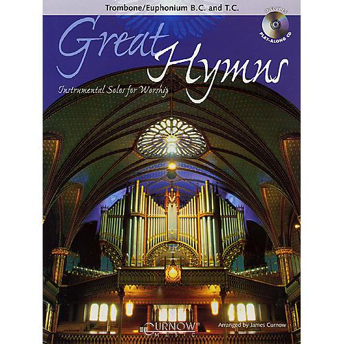 Curnow Music Great Hymns (Trombone/Euphonium/Bassoon - Grade 3-4) Concert Band Level 3-4 thumbnail