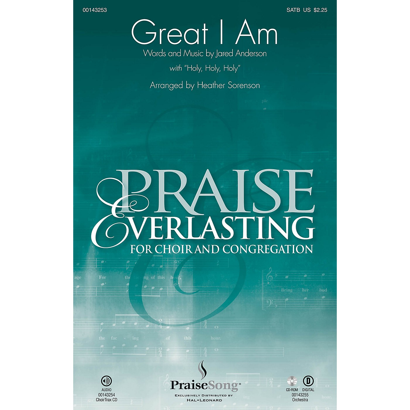 PraiseSong Great I Am (with Holy, Holy, Holy) ORCHESTRA ACCOMPANIMENT by Jared Anderson Arranged by Heather Sorenson thumbnail