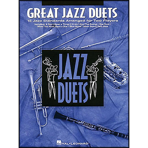 Hal Leonard Great Jazz Duets for Alto Sax-thumbnail