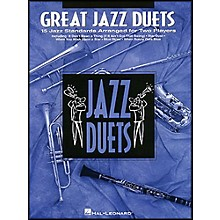 Hal Leonard Great Jazz Duets for Clarinet