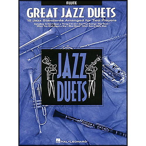 Hal Leonard Great Jazz Duets for Flute thumbnail