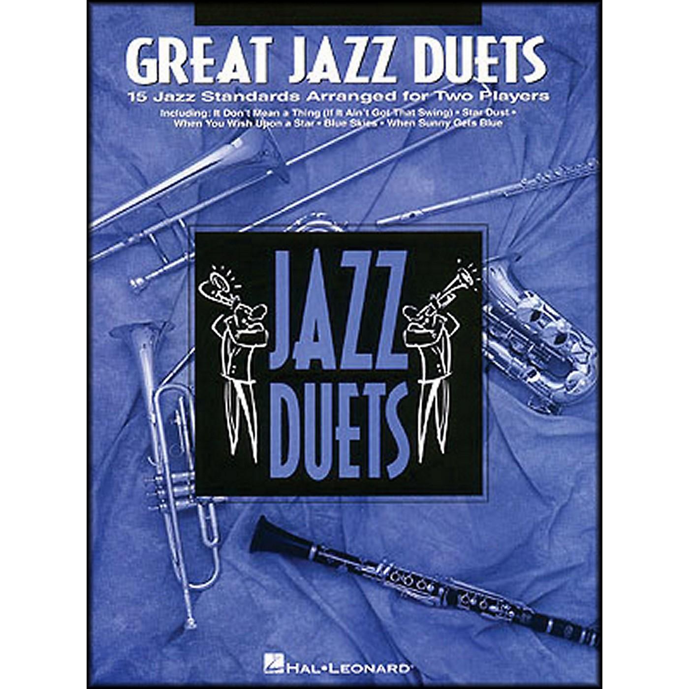 Hal Leonard Great Jazz Duets for Trombone thumbnail