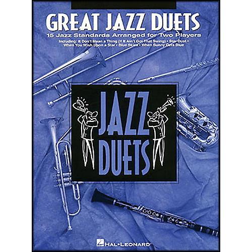 Hal Leonard Great Jazz Duets for Trumpet-thumbnail