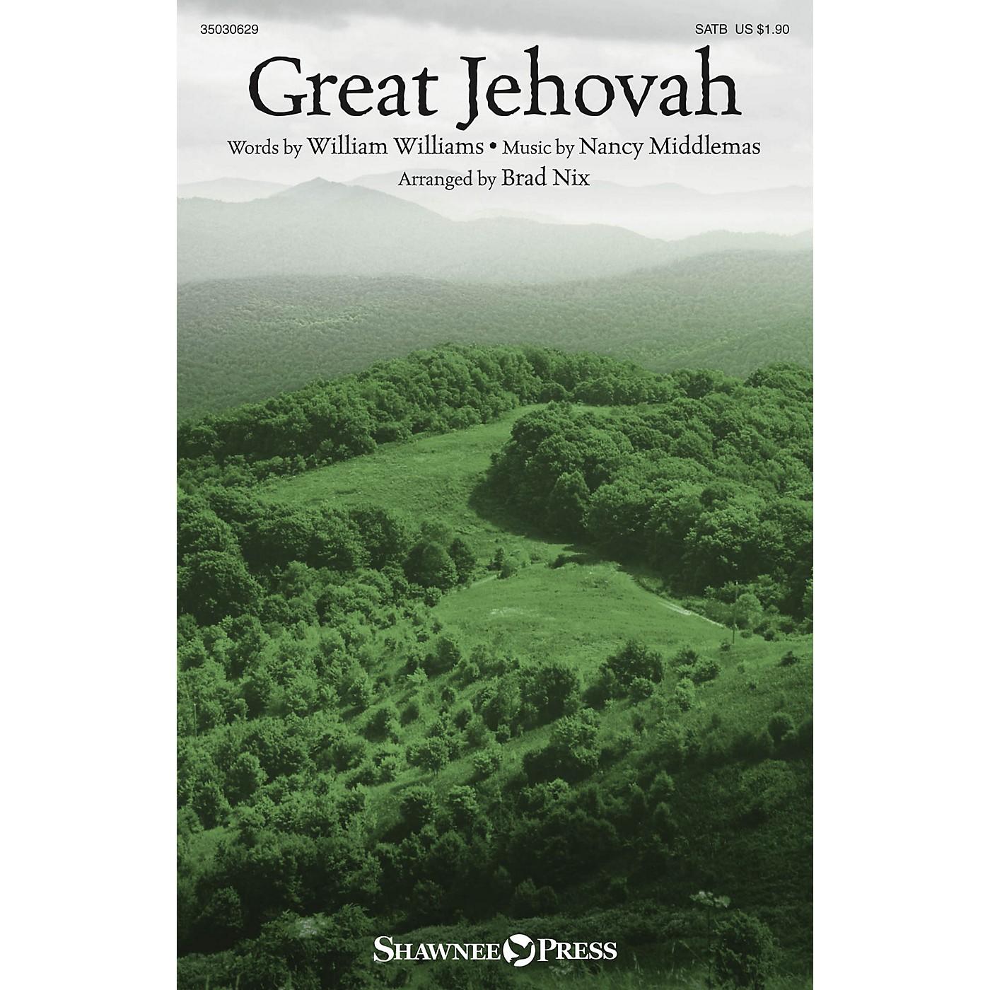 Shawnee Press Great Jehovah SATB arranged by Brad Nix thumbnail