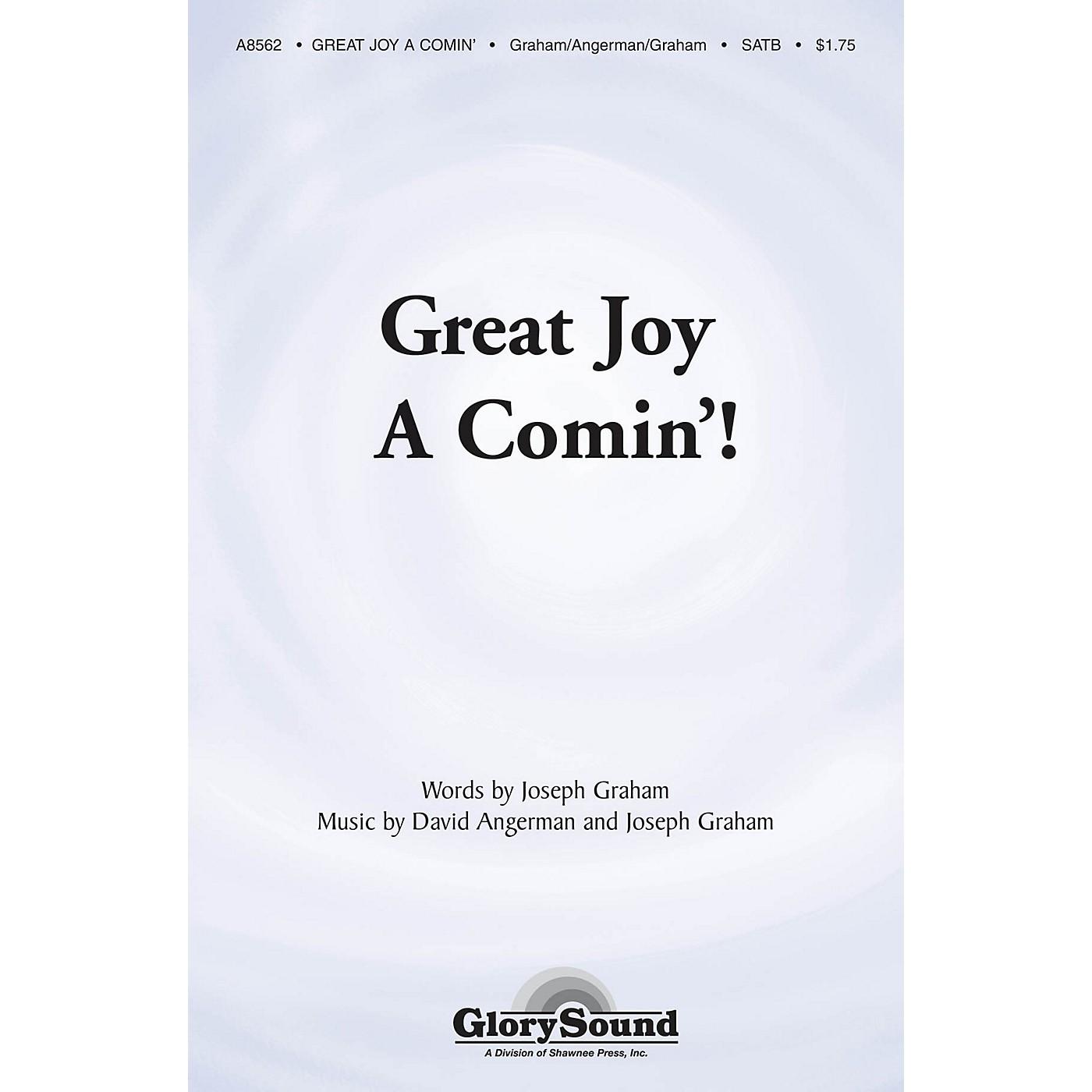 Shawnee Press Great Joy A-Comin' SATB composed by Joseph Graham thumbnail