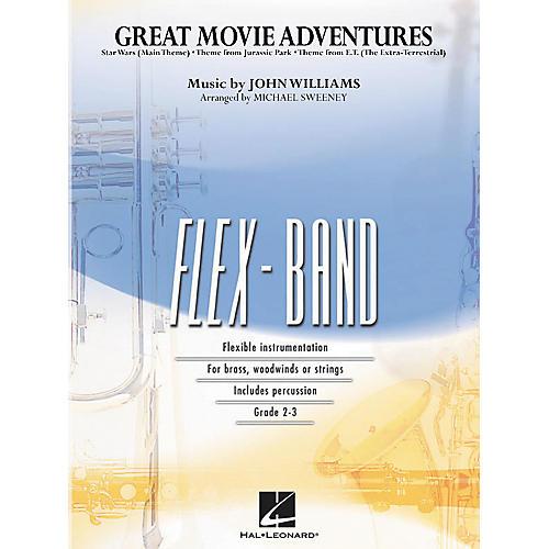 Hal Leonard Great Movie Adventures Flex-Band Series (Book) thumbnail