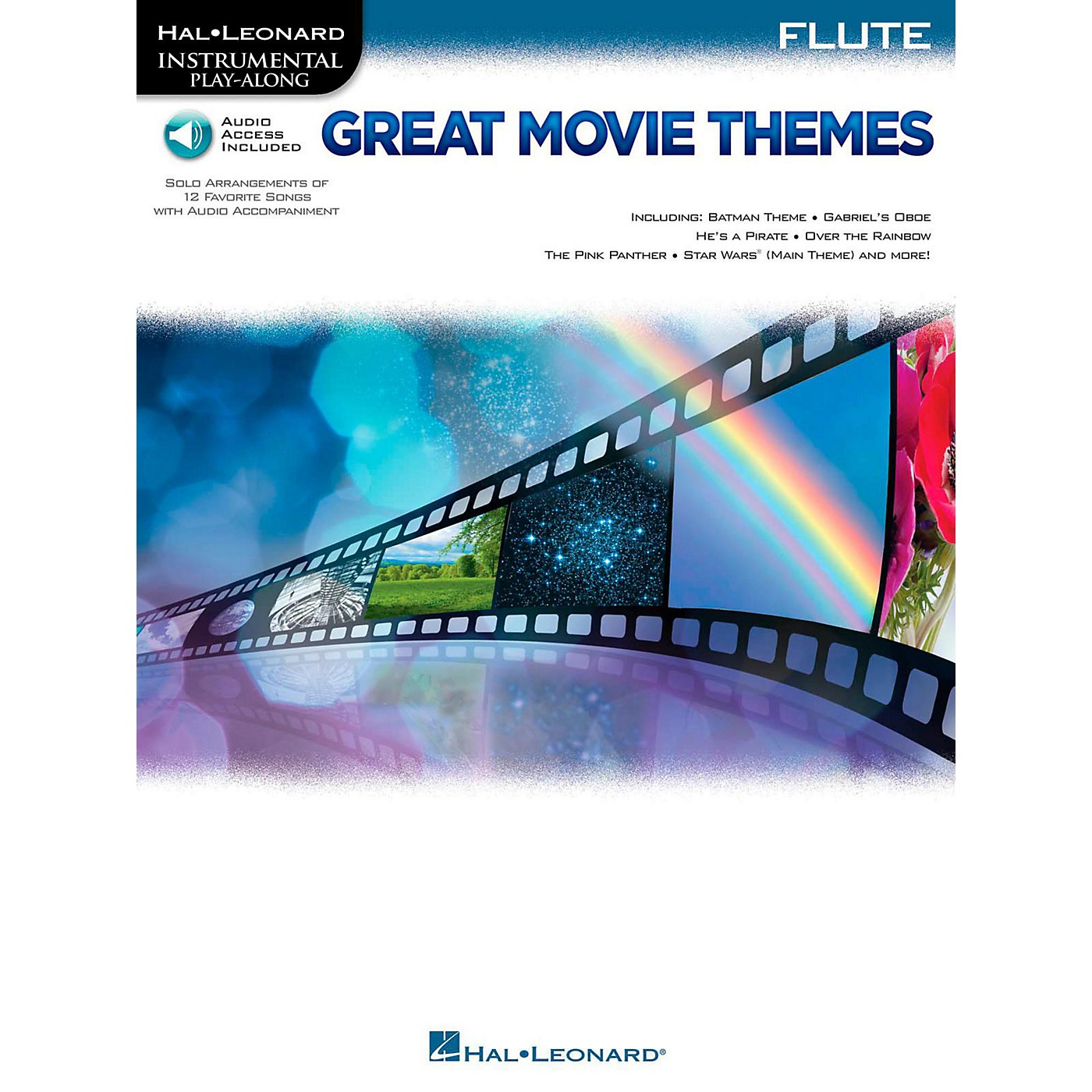 Hal Leonard Great Movie Themes For Flute - Instrumental Play-Along (Book/Online Audio) thumbnail