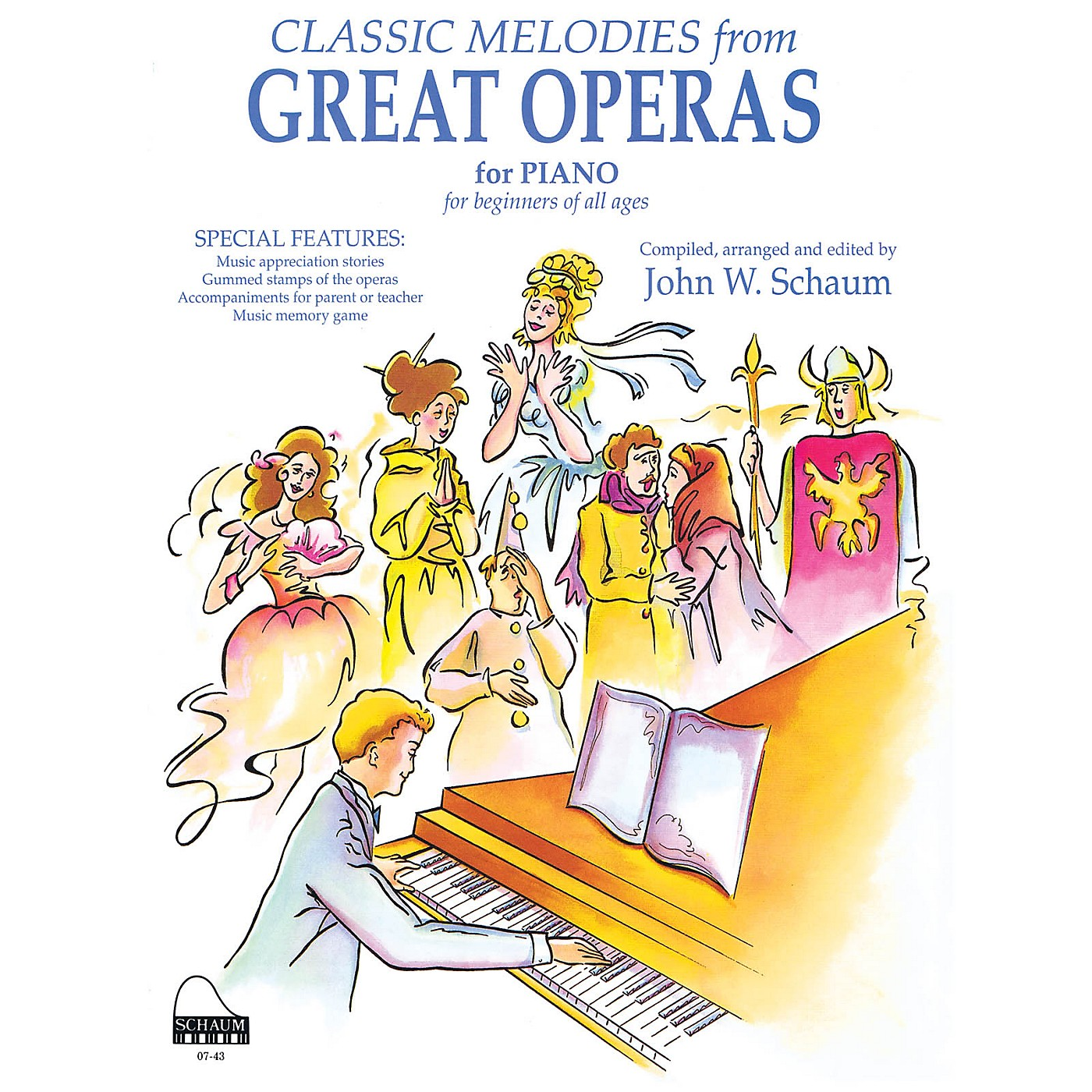 SCHAUM Great Operas Educational Piano Series Softcover thumbnail