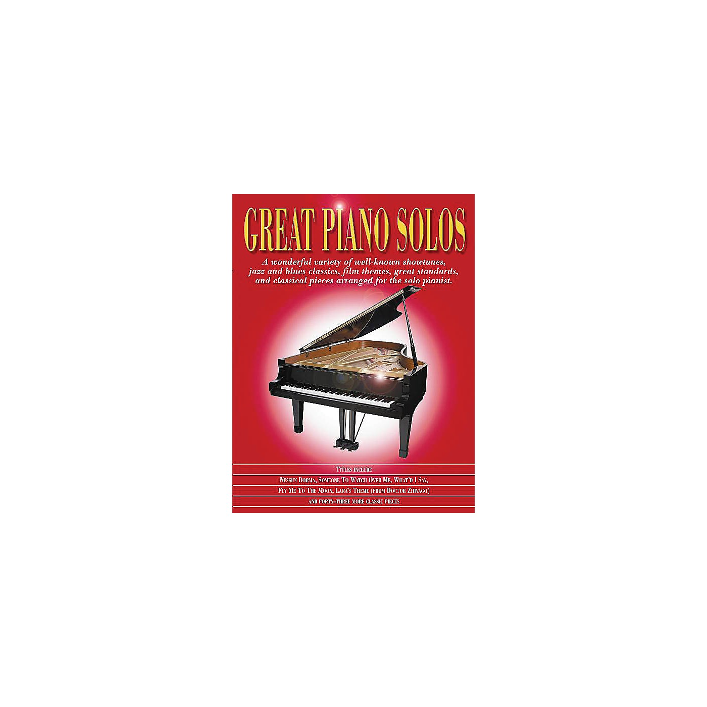 Music Sales Great Piano Solos - The Red Book Music Sales America Series Softcover thumbnail