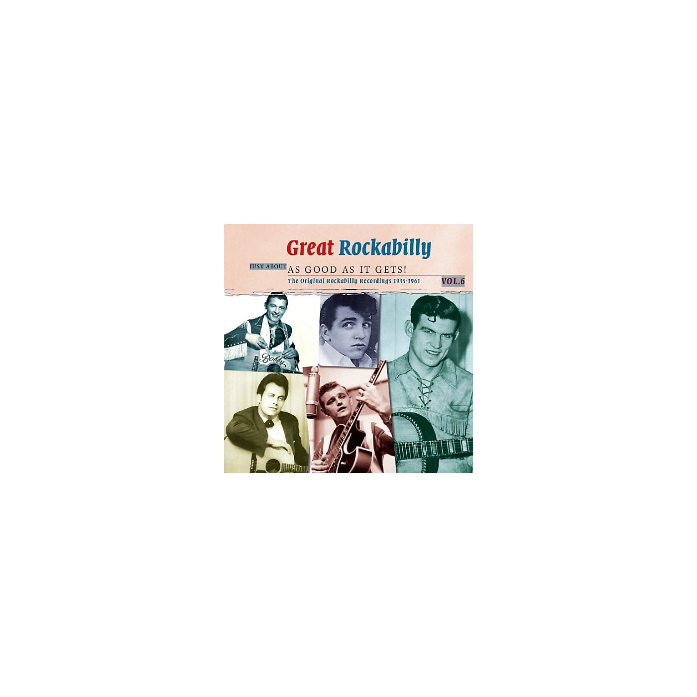 Alliance Great Rockabilly Just About as Good as It Gets! - Great Rockabilly Just About As Good As It Gets! thumbnail