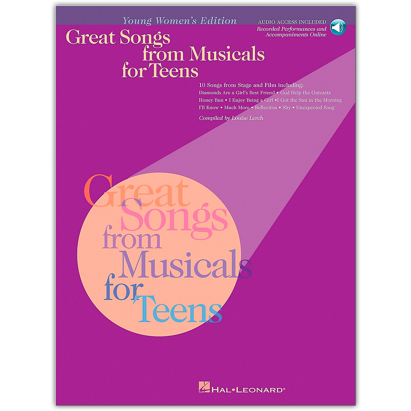 Hal Leonard Great Songs from Musicals for Teens (Book/Online Audio) thumbnail