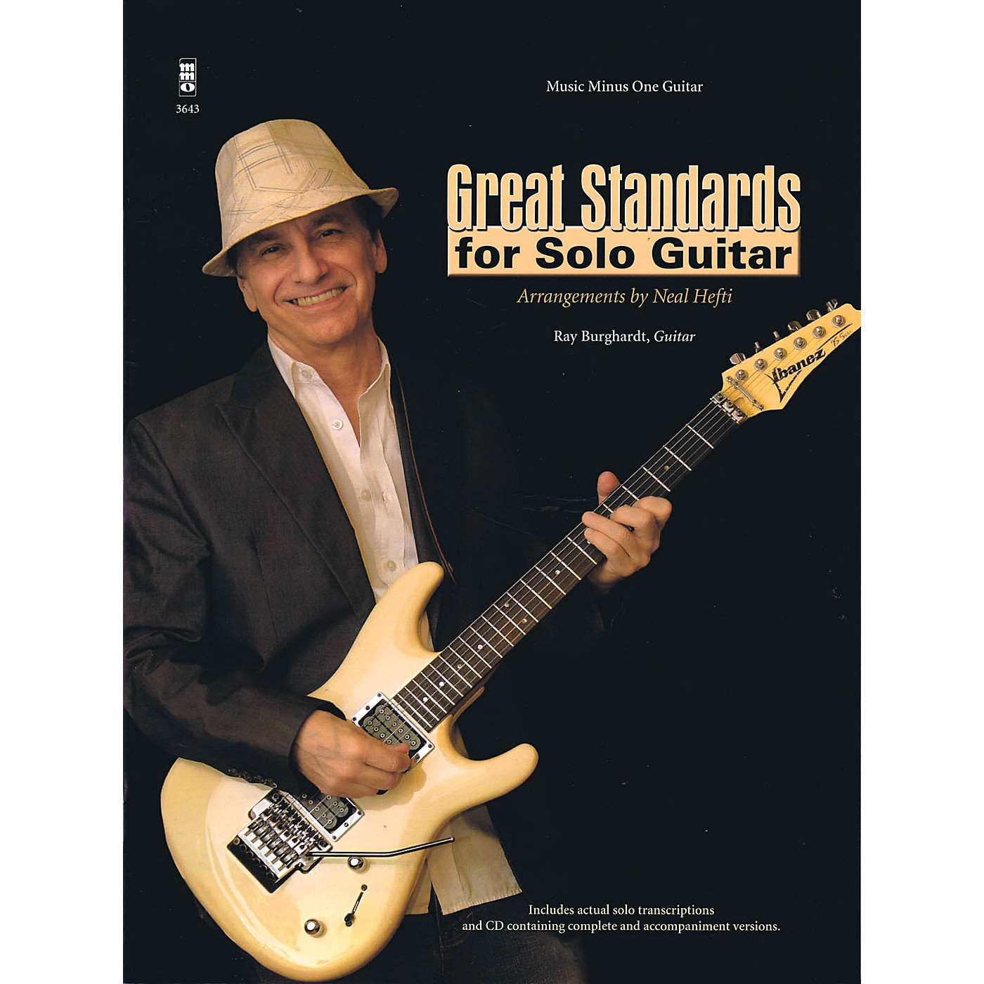 Music Minus One Great Standards for Solo Guitar Music Minus One Series Softcover with CD thumbnail