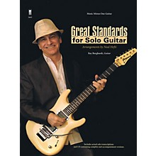 Music Minus One Great Standards for Solo Guitar Music Minus One Series Softcover with CD