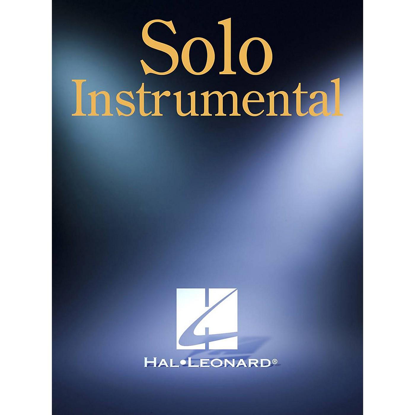 Hal Leonard Great Tenor Sax Solos Artist Transcriptions Series Performed by Various thumbnail