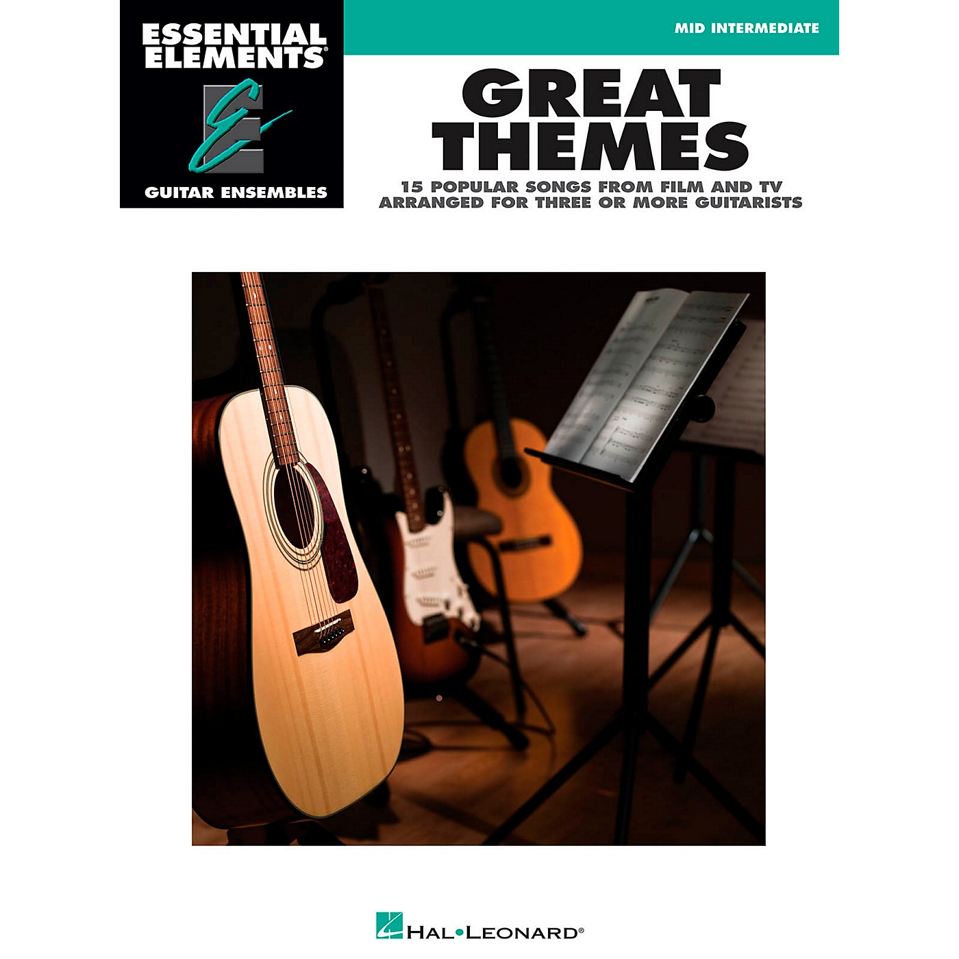 Hal Leonard Great Themes - Essential Elements Guitar Ensembles Songbook thumbnail