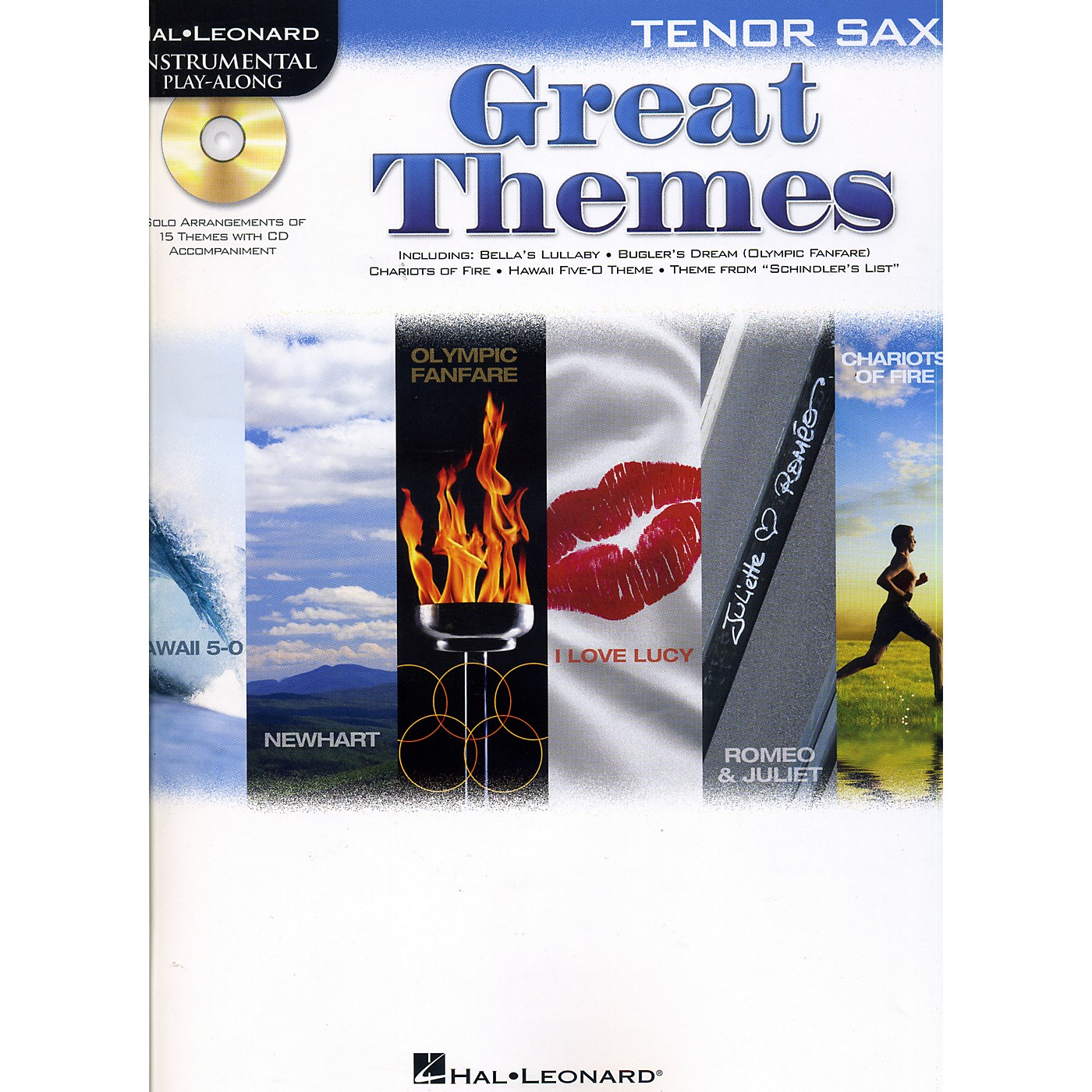 Hal Leonard Great Themes - Instrumental Play-Along Book/CD thumbnail