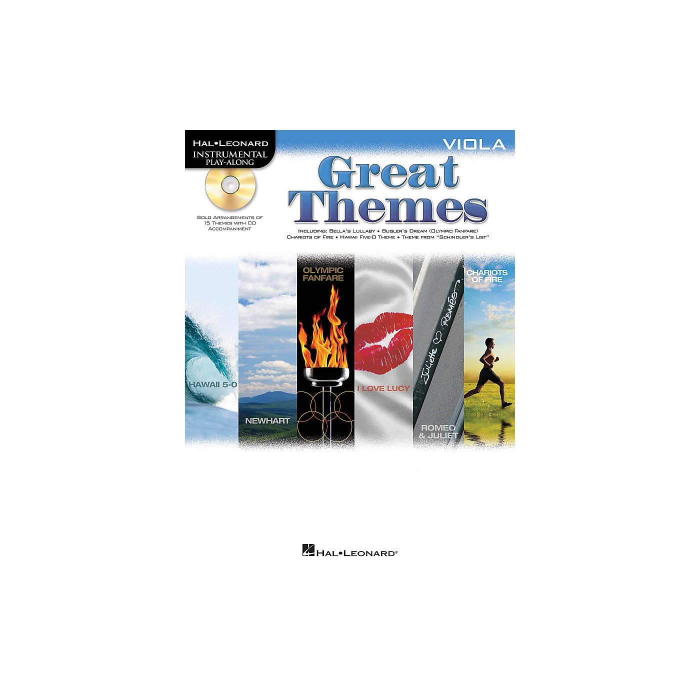 Hal Leonard Great Themes - Instrumental Play-Along Book/CD thumbnail