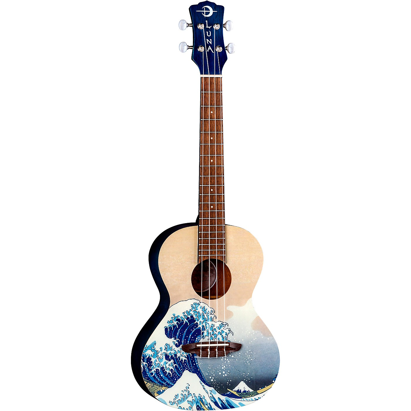 Luna Guitars Great Wave Tenor Ukulele thumbnail