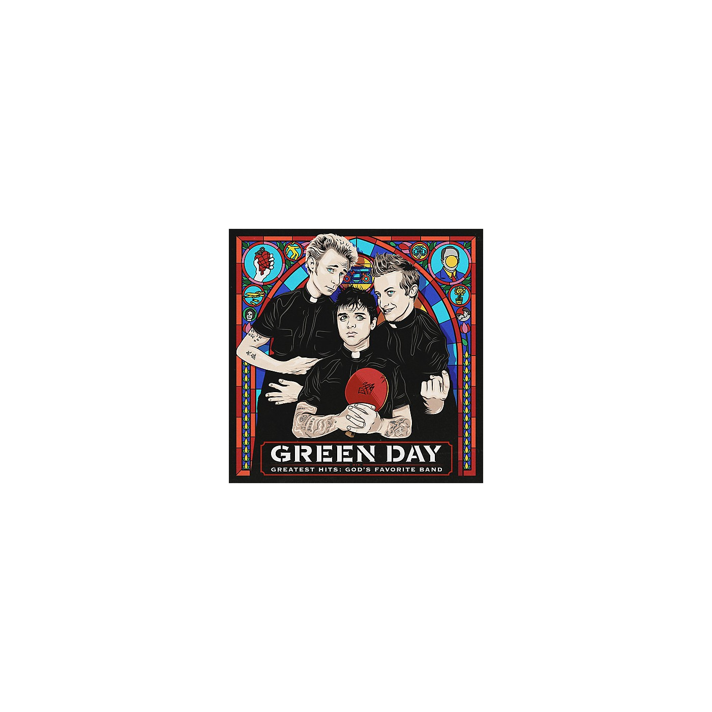 Alliance Green Day - Greatest Hits: God's Favorite Band (amended) (CD) thumbnail