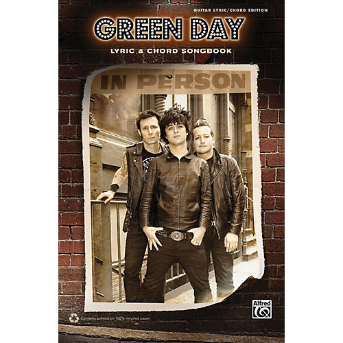 Alfred Green Day - Lyric & Chord Songbook thumbnail