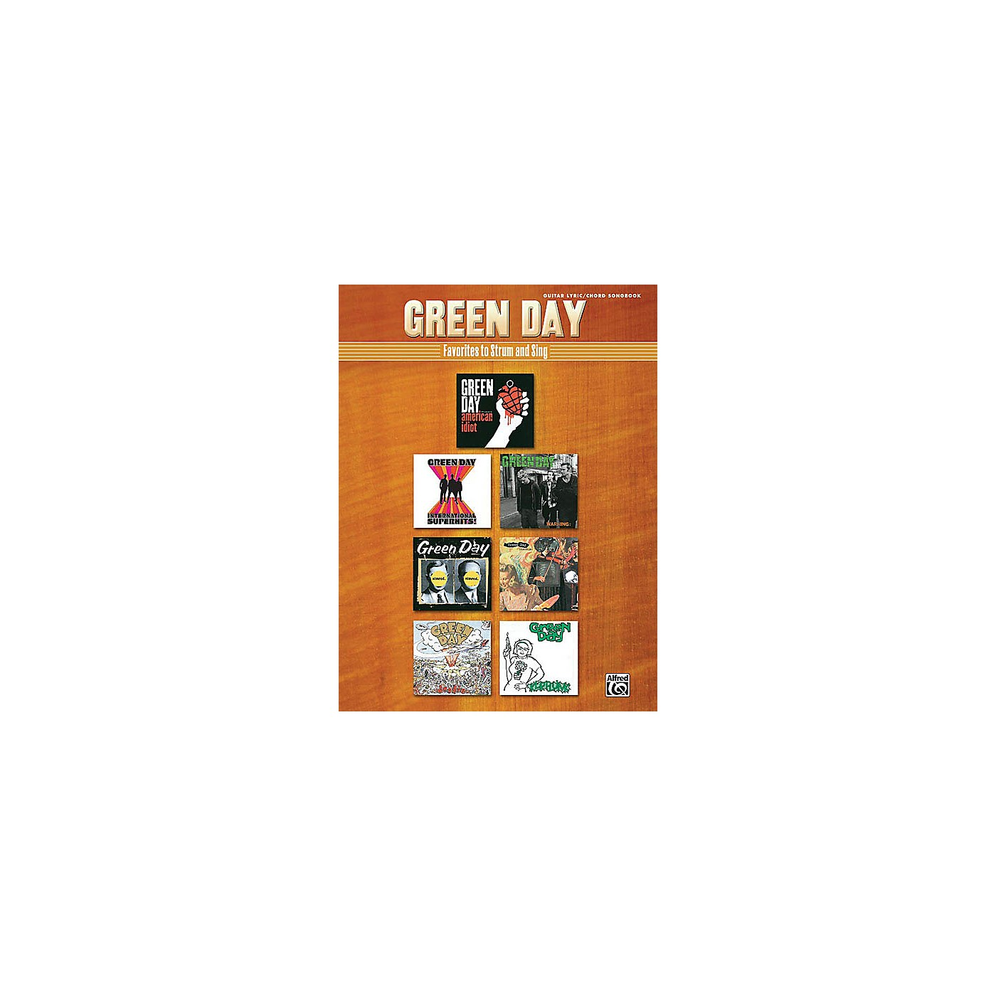 Alfred Green Day - Strum and Sing Guitar Book Series Softcover Performed by Green Day thumbnail