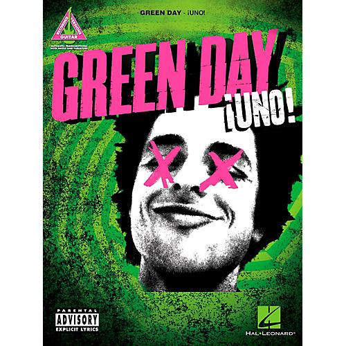 Hal Leonard Green Day - Uno Guitar Tab Songbook thumbnail