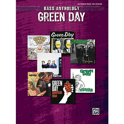 Alfred Green Day Anthology Bass Guitar Tab Songbook thumbnail