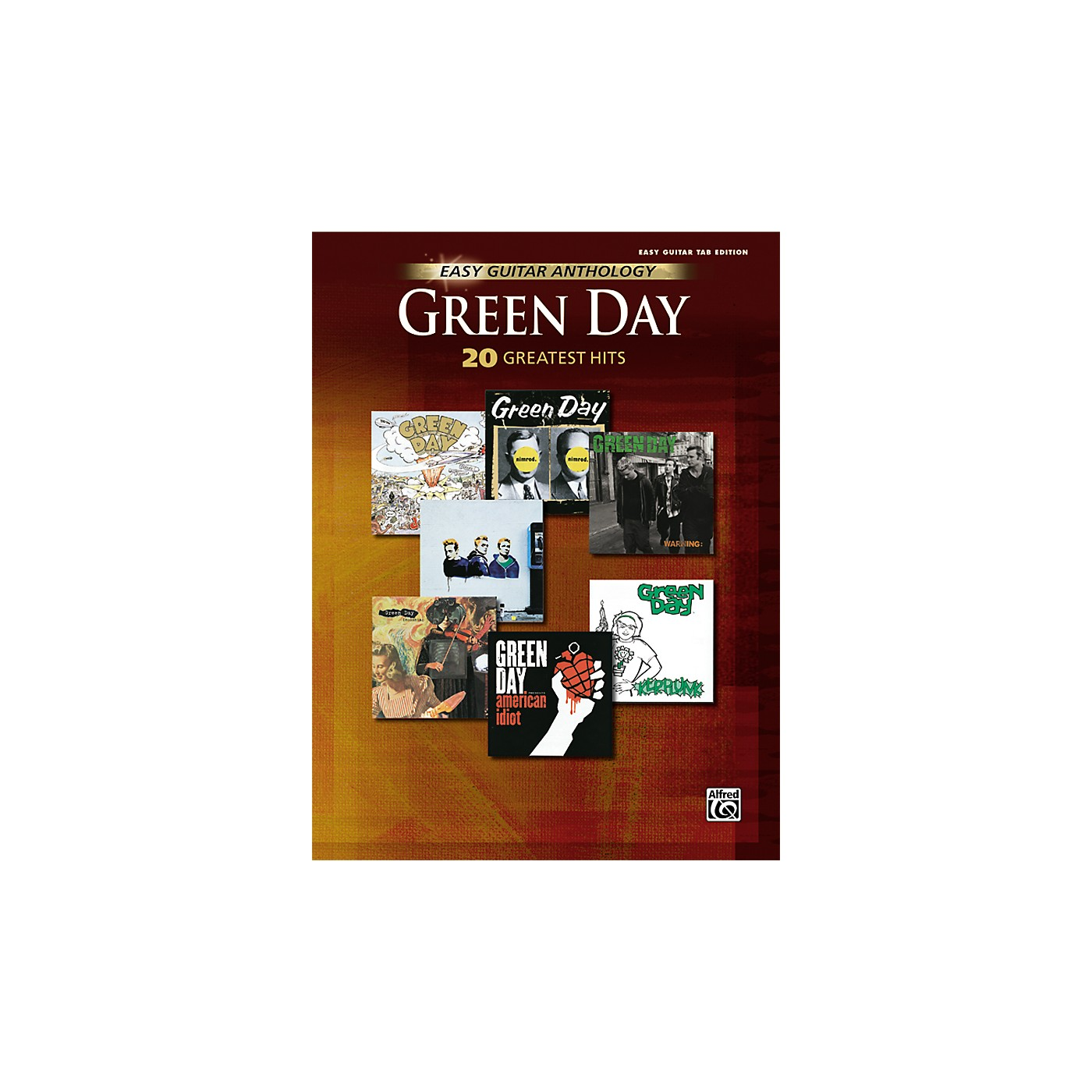 Hal Leonard Green Day Anthology Easy Guitar Tab Songbook thumbnail