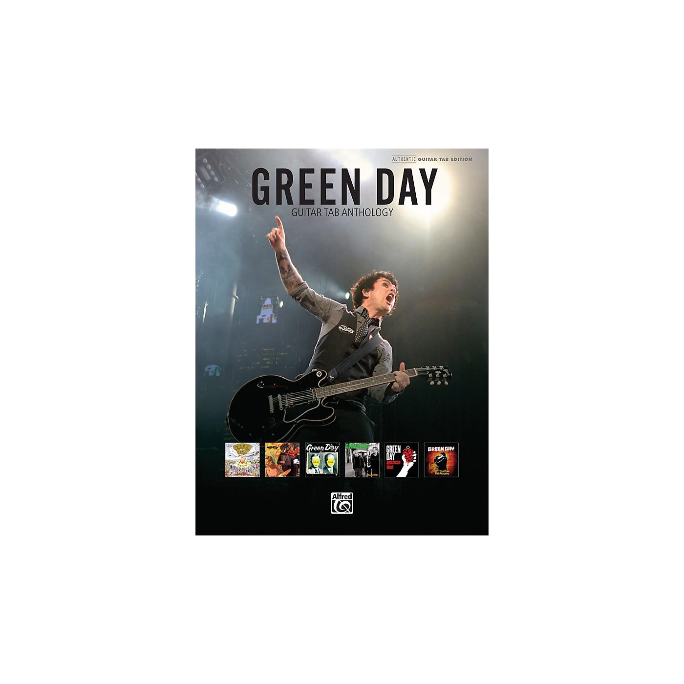 Alfred Green Day Guitar Tab Anthology Book thumbnail