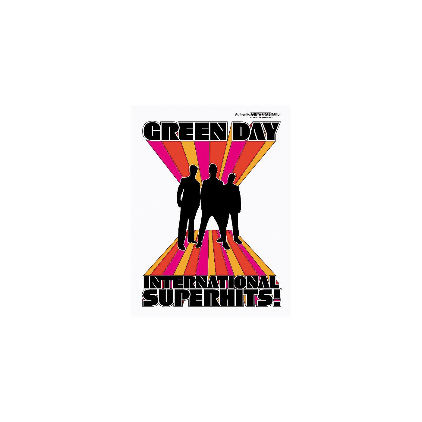 Alfred Green Day International Superhits! Guitar Tab Book thumbnail