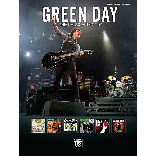 Alfred Green Day Sheet Music Anthology PVC Book-thumbnail