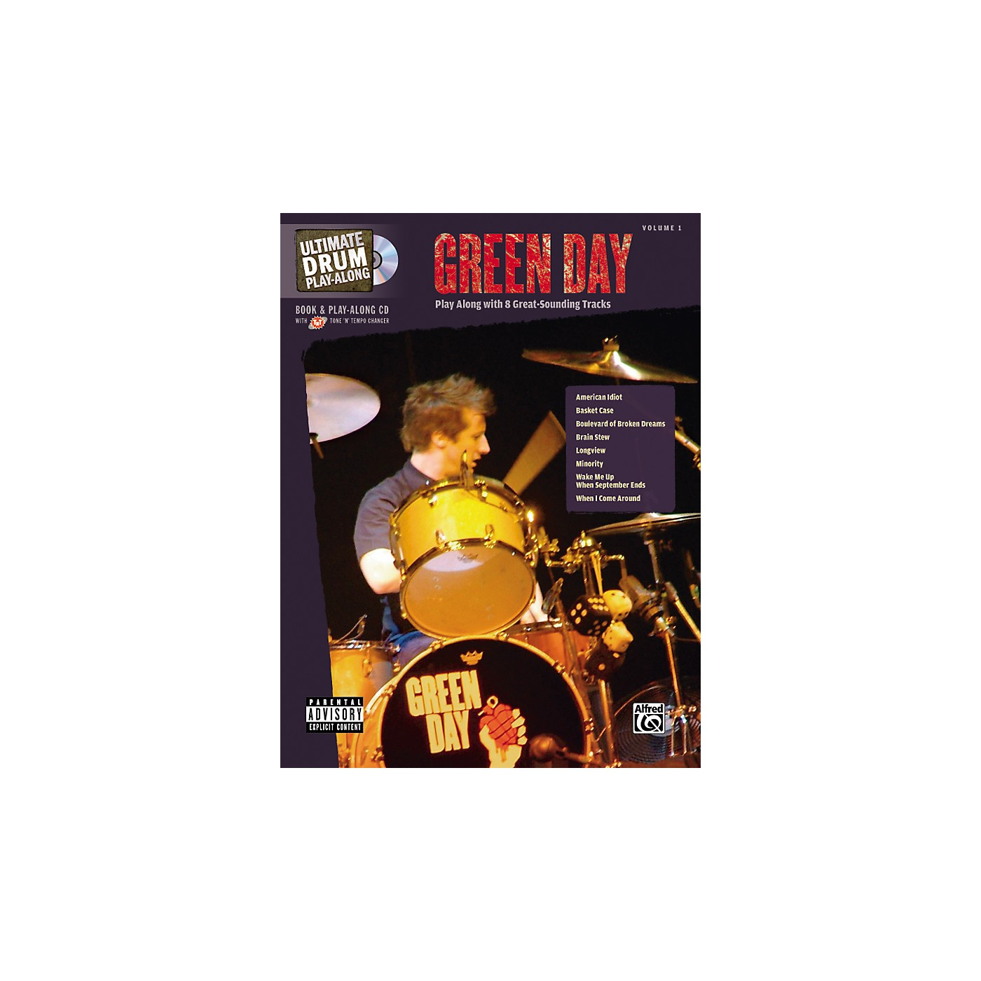 Alfred Green Day Ultimate Drum Book and Play-Along CD thumbnail