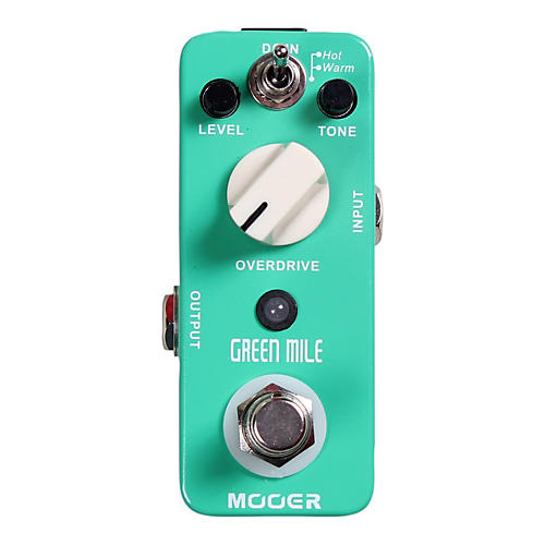 Mooer Green Mile Overdrive Guitar Effects Pedal thumbnail