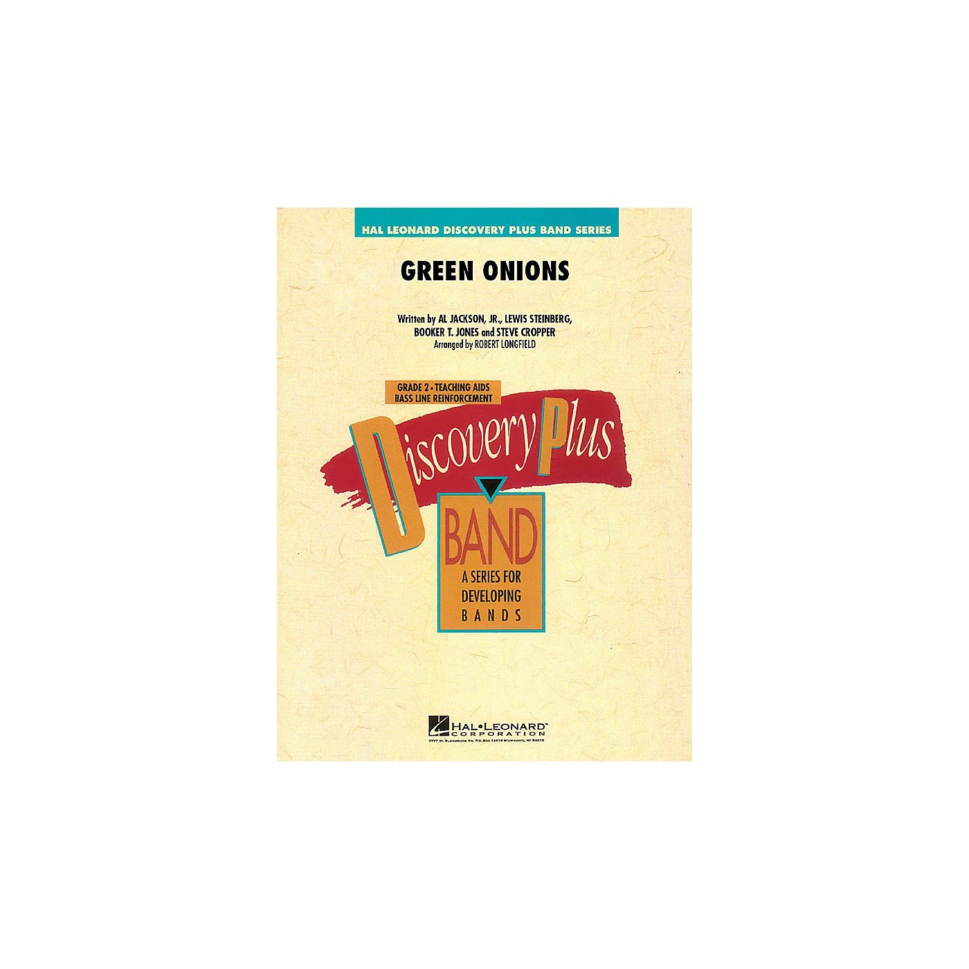 Hal Leonard Green Onions - Discovery Plus Band Level 2 arranged by Robert Longfield thumbnail