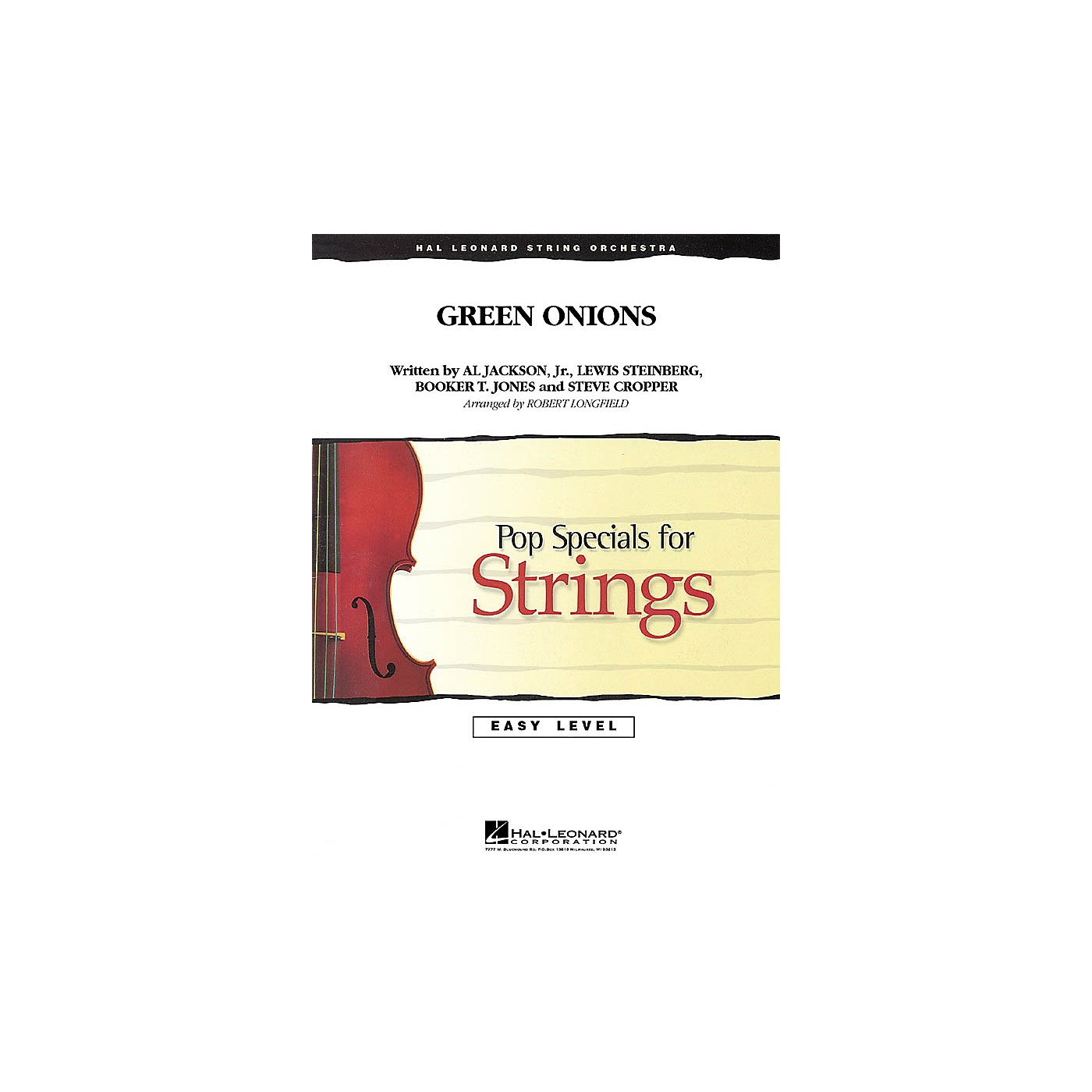 Hal Leonard Green Onions Easy Pop Specials For Strings Series Softcover Arranged by Robert Longfield thumbnail
