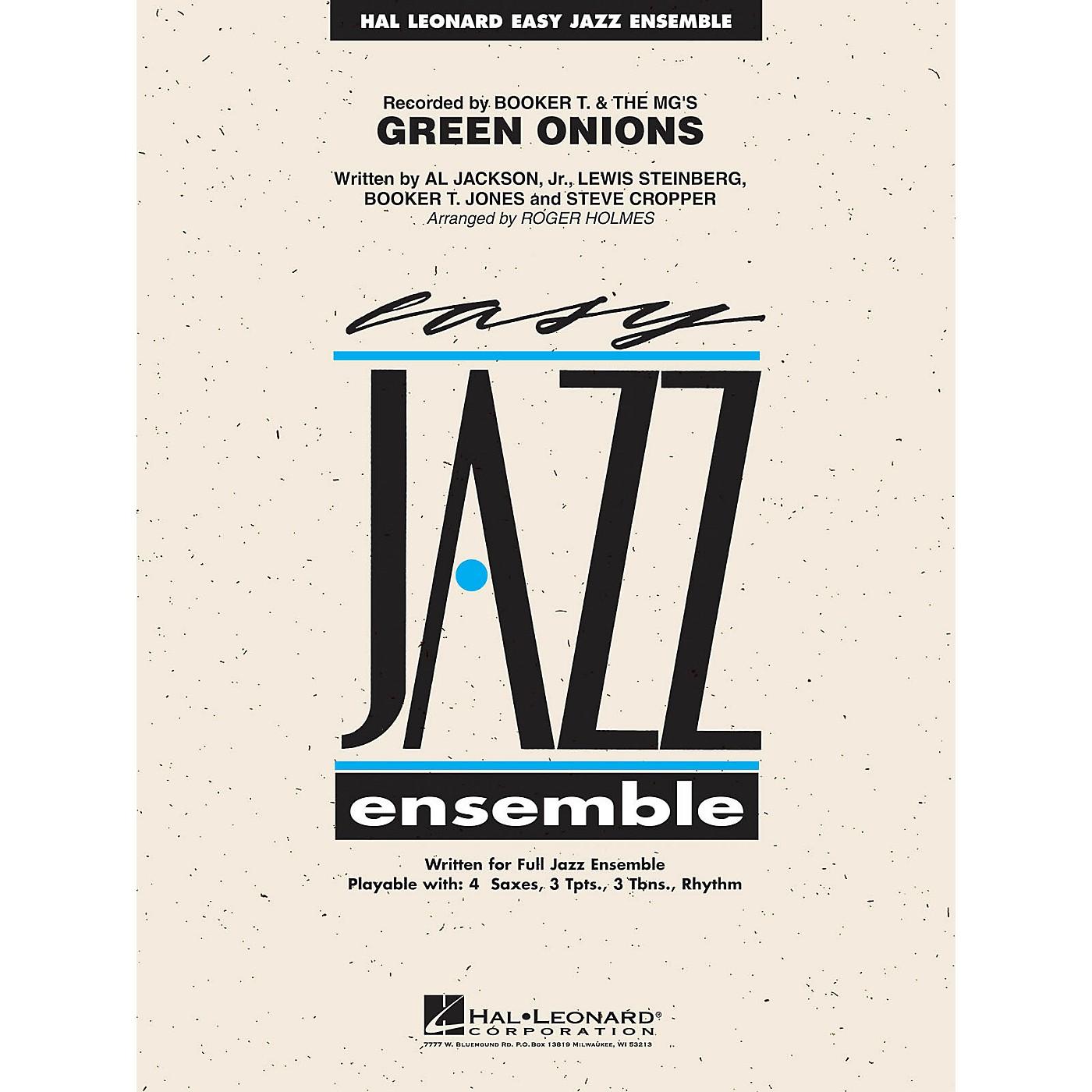 Hal Leonard Green Onions Jazz Band Level 2 Arranged by Roger Holmes thumbnail