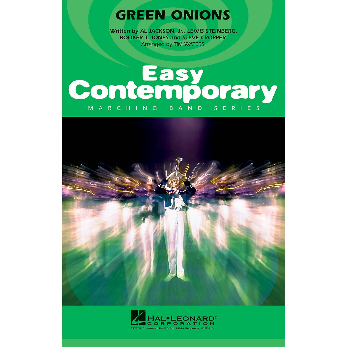 Hal Leonard Green Onions Marching Band Level 2-3 Arranged by Tim Waters thumbnail
