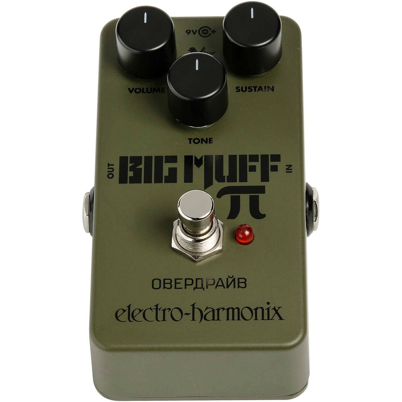 Electro-Harmonix Green Russian Big Muff Distortion and Sustainer Effects Pedal thumbnail