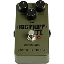 Electro-Harmonix Green Russian Big Muff Distortion and Sustainer Effects Pedal