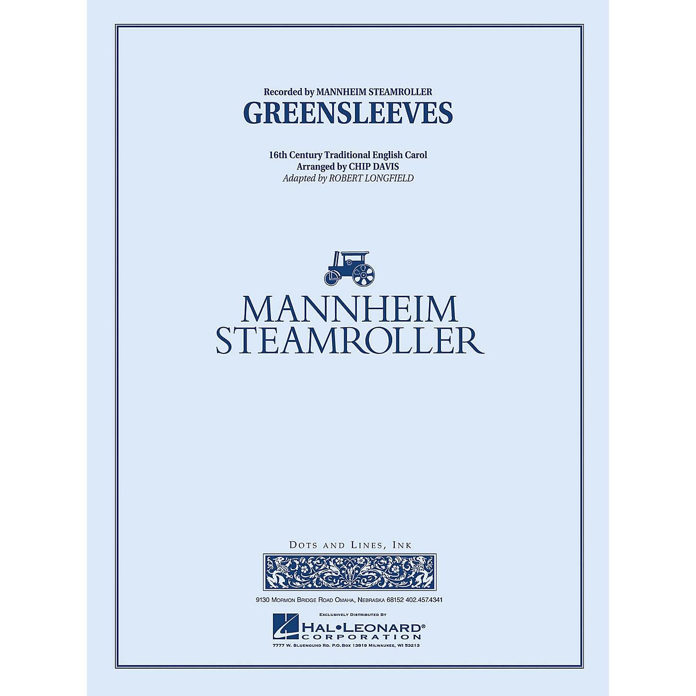 Mannheim Steamroller Greensleeves Concert Band Level 3 Arranged by Chip Davis thumbnail