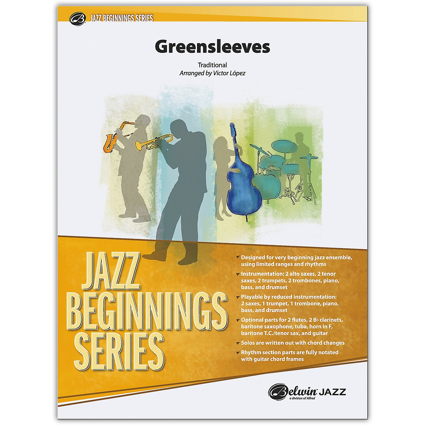 BELWIN Greensleeves Conductor Score 0.5 (Very Easy) thumbnail
