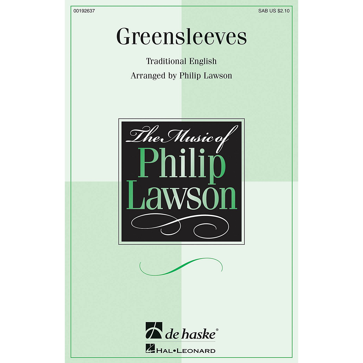 De Haske Music Greensleeves SAB arranged by Philip Lawson thumbnail
